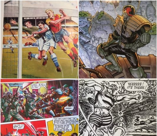 british comic book heroes feature image