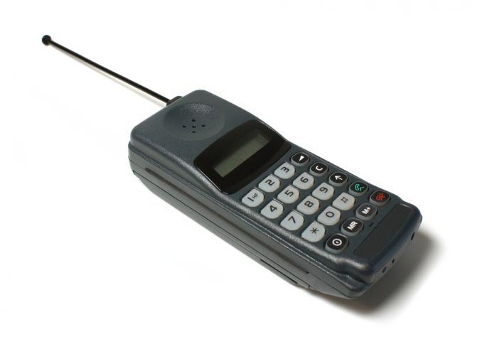 old mobile phone first text message