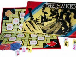 the sweeney retro board game