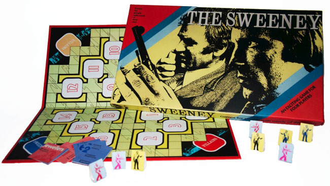 the sweeney retro board game