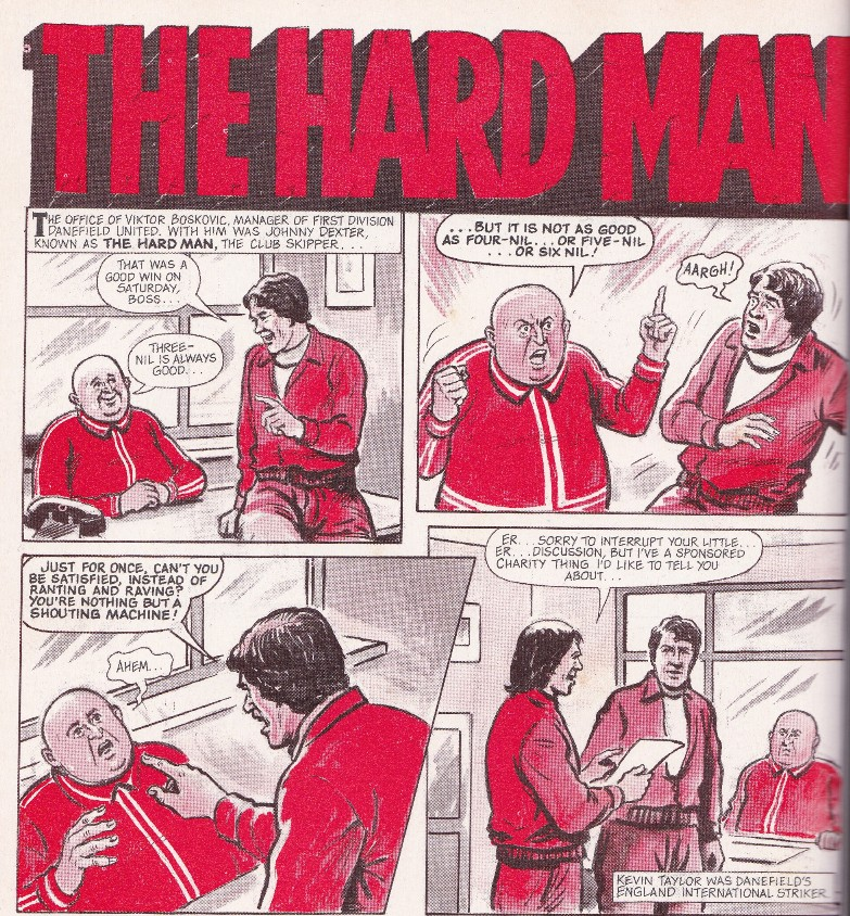 the hard man by barrie tomlinson