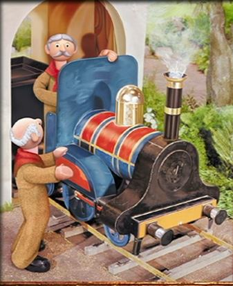 Lord Belborough and his train